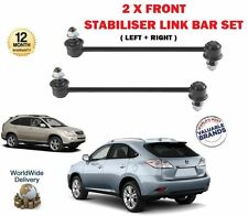 FOR LEXUS RX300 RX350 RX400 RX450H HYBRID 2003--> 2 X FRONT STABILISER LINK BARS
