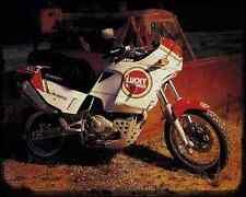 CAGIVA ELEFANT 750 91 1 A4 Metal Sign moto antigua añejada De