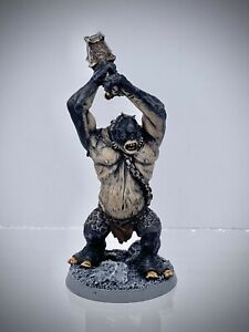 The Lord of the Rings - Cave Troll painted
