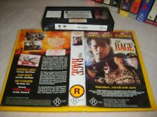 Vhs *THE RAGE* Rare 1997 Home Cinema Issue - Gary Busey - Cult Action Thriller!