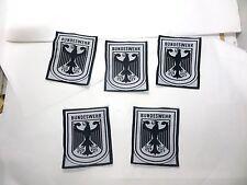 5 WEST GERMAN ARMY BUNDESWEHR EAGLE SPORTS PATCH