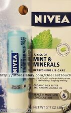 NIVEA* Balm Refreshing A KISS OF MINT & MINERALS Lip Balm/Gloss/Care NEW!