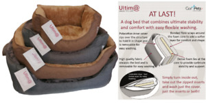 Pet Dog Bed Large Soft Fur Orthopaedic Removeable Cover Washable Gor Pets Ultima