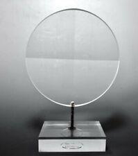 Vintage Alessio Tasca Fusina Modern MCM Acrylic Lucite Geometric Sculpture 2870