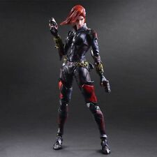 "Marvel Universe Avenger Play Arts Kai Black Widow 10"" PVC Action Figure CN Toys"