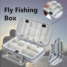 Strong Durable Waterproof Compartments Fly Fishing Lures Case Hooks Box Fishing