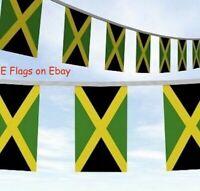10 Metres Jamaica Jamaican Caribbean Bob Marley Roots Rasta Flag Bunting