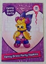 Shopkins Season 7 Card 73 Fancy Dress Party Topkins card - Free Post