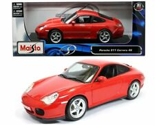 Maisto Porsche 911 Carrera 4s 1/18 Diecast Car Model Special Edition Red