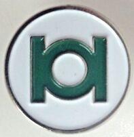 CD Comics Series - GREEN LANTERN Super Hero Ring Logo - UK Imported Enamel Pin