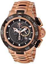 Invicta Mens Subaqua Noma V Swiss Made Ronda 5050.E Gunmetal 18k RG Plated Watch
