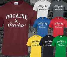 COCAINE AND CAVIAR CROOKS CASTLES MENS T SHIRT SWAG HIPSTER FASHION TUMBLR TOP