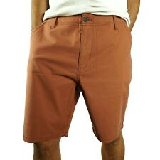 Lucky Brand Mens Chino Shorts Size 36 Mineral Red Cotton Modal Saturday Stretch