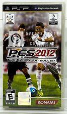 Pro Evolution Soccer PES 2012 - PSP - Brand New   Factory Sealed