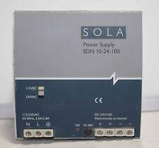 Sola SDN 10-24-100 24V DC Power Supply ++