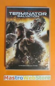 TERMINATOR SALVATION - Bale Worthington - 2009 - SONY PICTURES - DVD [dv38]