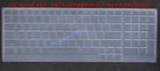 Keyboard Skin Cover Protector for Dell Alienware 17 (ALW17D-4748)(ALW17D-2748)