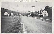 St Marys Johnsonburg road in Johnsonburg Pa 1954