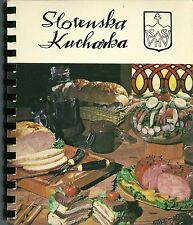 SLOVAK COOKBOOK, CUDAHY, WISCONSIN - WISCONSIN SLOVAK HISTORICAL SOCIETY - GREAT