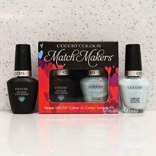 CUCCIO Veneer Match Makers - MEET ME IN MYKONOS 6047 Gel & Nail Lacquer Duo Kit