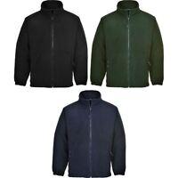 Portwest F205 Anti Pill Full Zip Middleweight Aran Fleece Jacket Various Colours