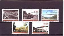 NUOVA Zelanda-sg3086-3090 MNH 2008 centenario del Nord, isola principale arteria ferroviaria