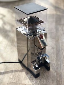 Eureka Mignon MCI Timer Chrom Kaffeemühle Deluxe * Neu * ItalianFoodLovers . de