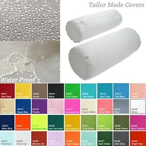TAILOR MADE*Bolster Cover*Waterproof Outdoor Yoga Neck Roll Long Tube Case Dw49