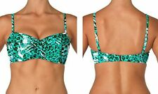Sunsets Underwire Twist Bandeau Bikini swimwear bikini top Size 34D