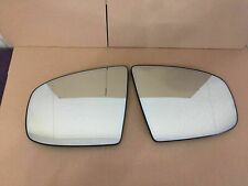 BMW E70 E71 X5 X6 07-14 Pair Set of 2 Door Mirror Glasses with Auto-Dimming