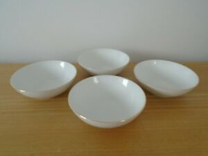 Set of 4 Thomas China Thin Gold Band Fruit or Dessert Bowls - 14cm