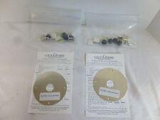 """Colour de Verre 5"""" Diameter Round Lamp Assembly Lighting Hardware Kit: Makes 2!"""