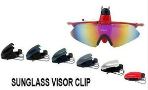 Sunglasses and Reading Glasses Holder Visor Clip Driving Car Accessories Safety