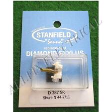 Shure N44-7 Compatible Turntable Stylus - Stanfield Part No. D387SR