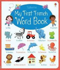 My First Francés Palabra LIBRO (My Word libro) por Felicity Brooks DE CARTÓN B