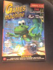THE GAMES MACHINE 105 Febbraio 1998 CROC VIRTUA COP 2 FALL OUT ULTIMA ONLINE
