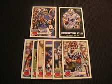 2012 TOPPS MAGIC BUFFALO BILLS MASTER TEAM SET 8 CARDS  WITH SP & INSERTS
