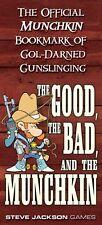 """Official Munchkin Bookmark of Gol-Darned Gunslinging"" Steve Jackson Games card"