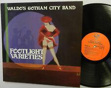 WALDOS GOTHAM CITY BAND footlight varietes LP