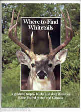 Where to Find Whitetail Deer in Us and Canada