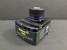 Pelikan Antique Ink Bottle 4001 Navy Blue Fountain Pen Holder Germany 70 50ml