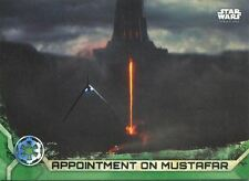 Star Wars Rogue One Series 2 Green Base Card #36 Appointment on Mustafar