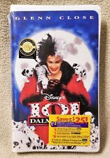 101 DALMATIONS 1997 Live Action Movie VHS Video Tape Walt Disney NEW Sealed