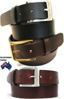 New Quality Genuine Full Grain Leather Men's Jeans Belt Australian Seller 41012