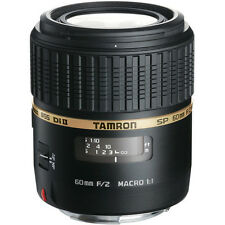 New TAMRON SP AF 60mm f/2 Di II MACRO Lens [G005] - Sony A Mount