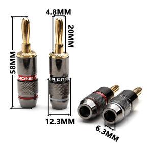 Cavi casse spinotti Monster Cable  jack per cavi potenza casse diffusori Hi Fi