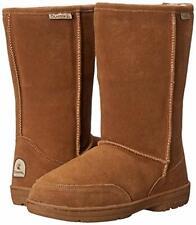 Bearpaw Meadow - 10 Inch Sheepskin Boots - 605w Hickory - 11