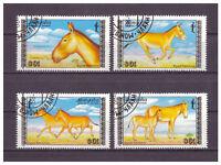 Mongolei, Dschiggetai MiNr. 1995 - 1998, 1988 used