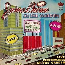 JAMES BROWN 'LIVE AT THE GARDEN' US IMPORT LP KING
