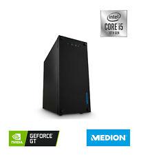 MEDION AKOYA P62024 PC, Intel i5-10400, 8GB RAM, 1TB SSD, 3yr war, WiFi, GT 1030